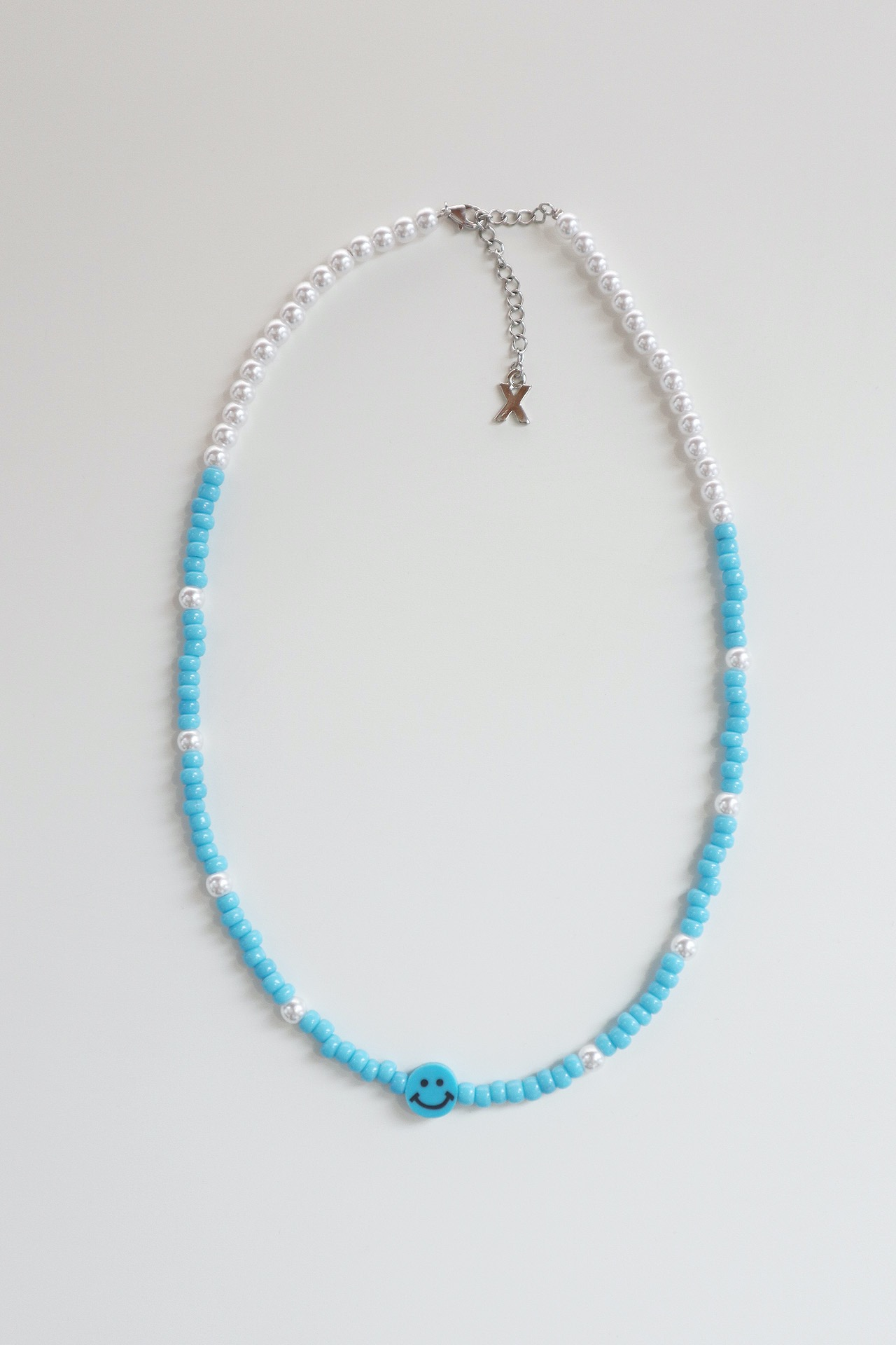 Smile Mix Necklace | Blue